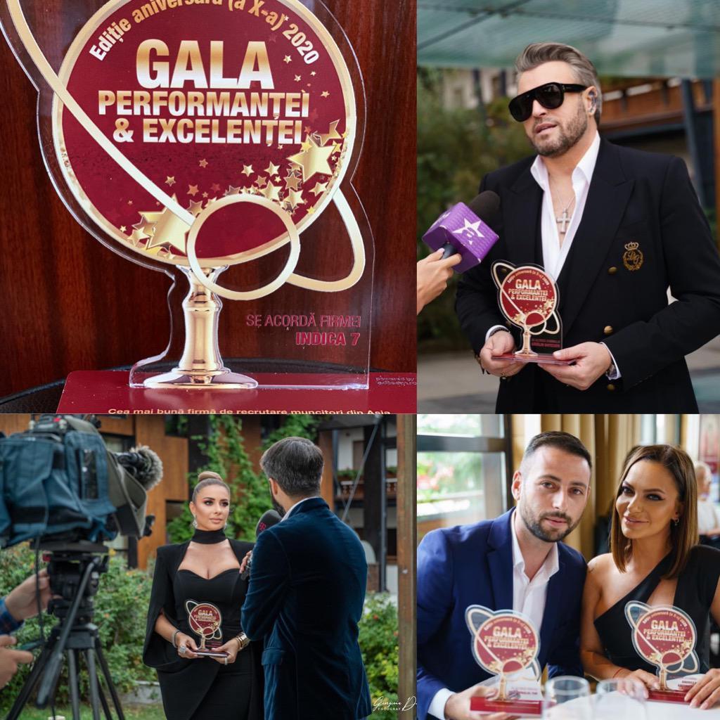 Indica 7, premiata alaturi de celebritatile momentului in Romania